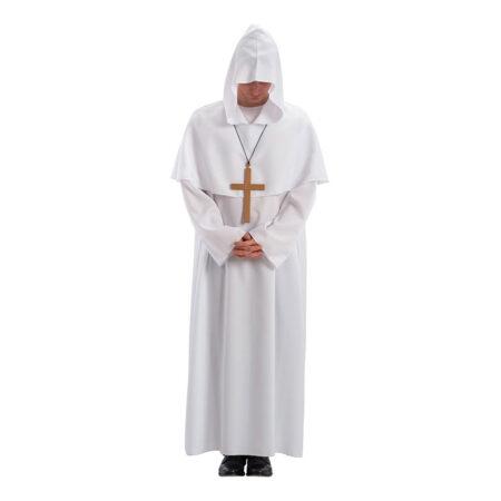 Hvid præst kostume 450x450 - Hvide kostumer til voksne