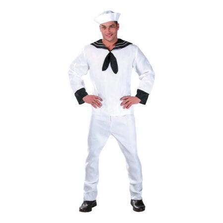 Hvid sømand kostume 450x450 - Hvide kostumer til voksne