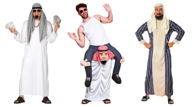 Oliesheik kostume til voksne 800x445 - Oliesheik kostume til voksne