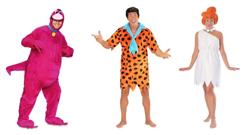 flintstones kostume til voksne, flintstones udklædning til voksne, hulemand kostume til voksne, flintstones voksenkostumer, flintstones fastelavnskostumer til voksne