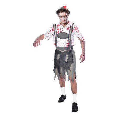 Oktoberfest zombie kostume 450x450 - Zombie kostume til voksne