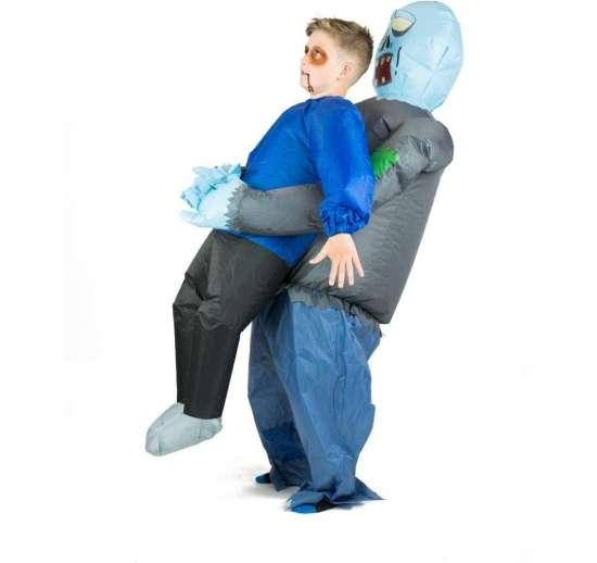 Oppustelige zombie kostume til børn - Zombie kostume til børn