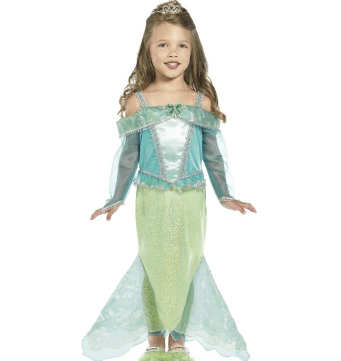 Skærmbillede 2017 07 25 kl. 12.52.13 - Ariel kostume til børn