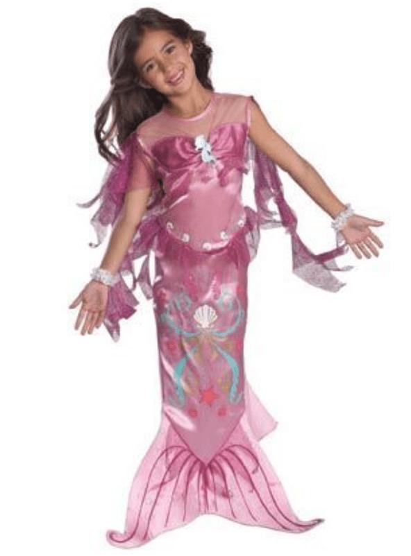 Skærmbillede 2017 07 25 kl. 13.04.19 - Ariel kostume til børn