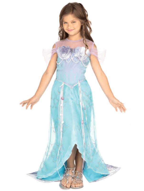 Skærmbillede 2017 07 25 kl. 13.07.44 - Ariel kostume til børn