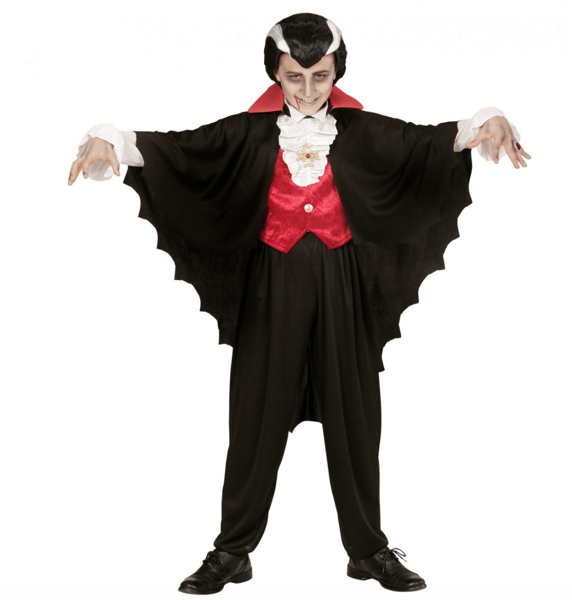 Skærmbillede 2017 07 28 kl. 14.49.12 - Vampyr kostume til børn