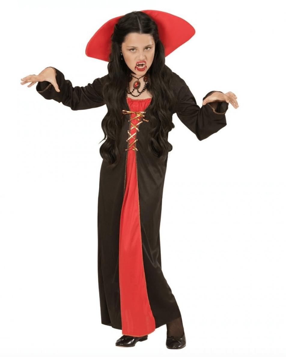 Skærmbillede 2017 07 28 kl. 14.53.37 - Vampyr kostume til børn