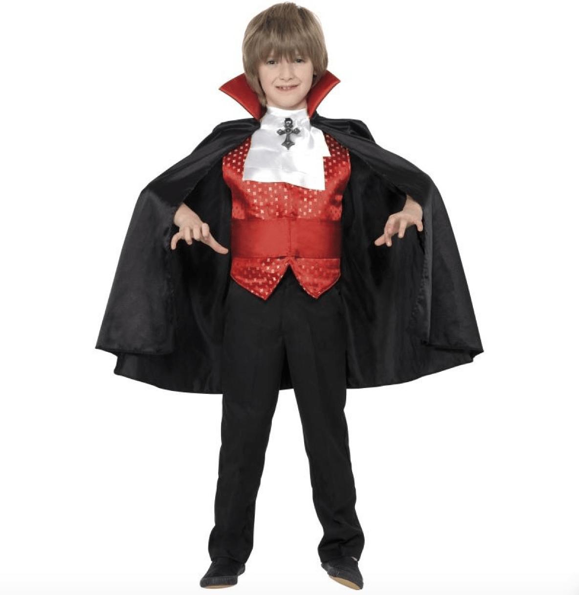 Skærmbillede 2017 07 28 kl. 15.06.13 - Vampyr kostume til børn