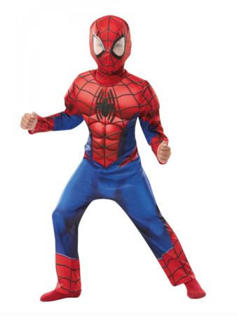 Spiderman børnekostume 338x450 - Spiderman kostume til børn