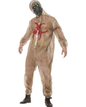 Zombie laborant kostume til voksne 362x450 - Zombie kostume til voksne