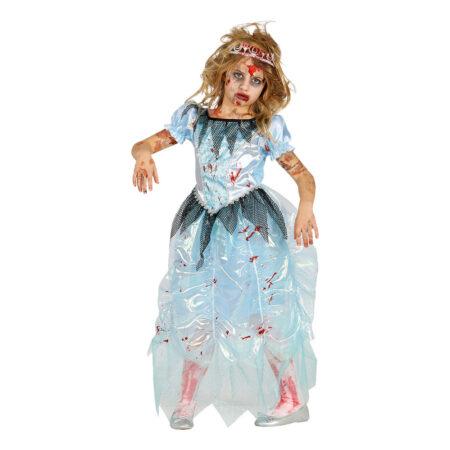 Zombie prinsesse kostume 450x450 - Zombie kostume til børn