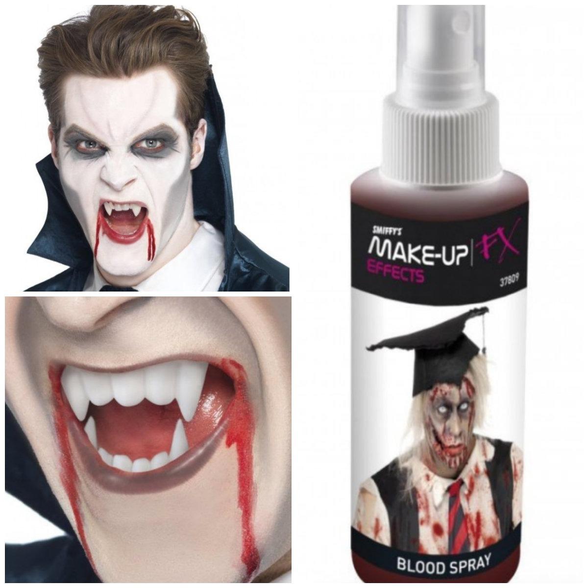 collage 13 - Vampyr kostume til voksne