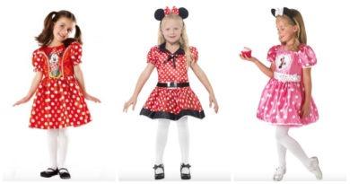 Minnie Mouse kostume til børn, minnie mouse udklædning til børn, minnie mouse kostumer, minnie mouse kjoler, minnie mouse, minnie mouset fastelavns kostume, disney kostumer, disney udklædning, kostumeuniverset