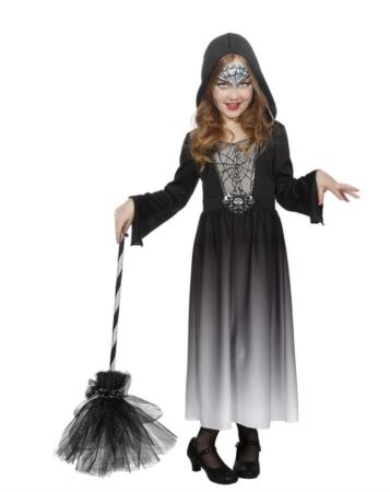 edderkop hekse kostume 357x450 - Hekse kostume til børn