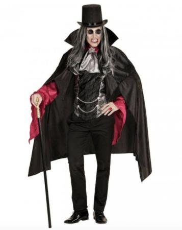 gotisk vampyr kostume 357x450 - Vampyr kostume til voksne