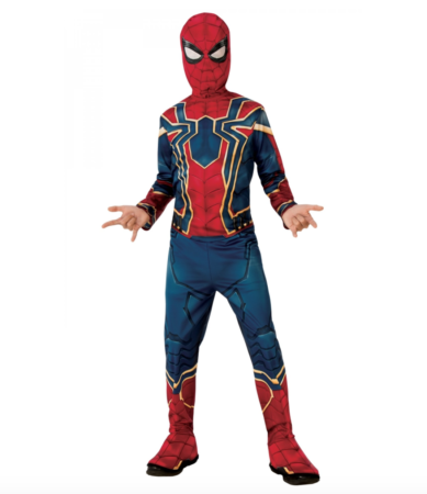 iron spiderman fastelavnskostume 389x450 - Spiderman kostume til børn