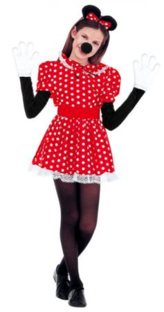 minnie mouse kostume minnie mouse udklædning disney fastelavn kostume