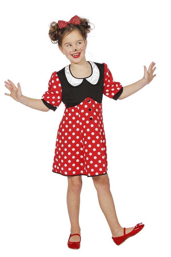 minnie mouse kostume til børn disney kostume udklædning fastelavnskostume