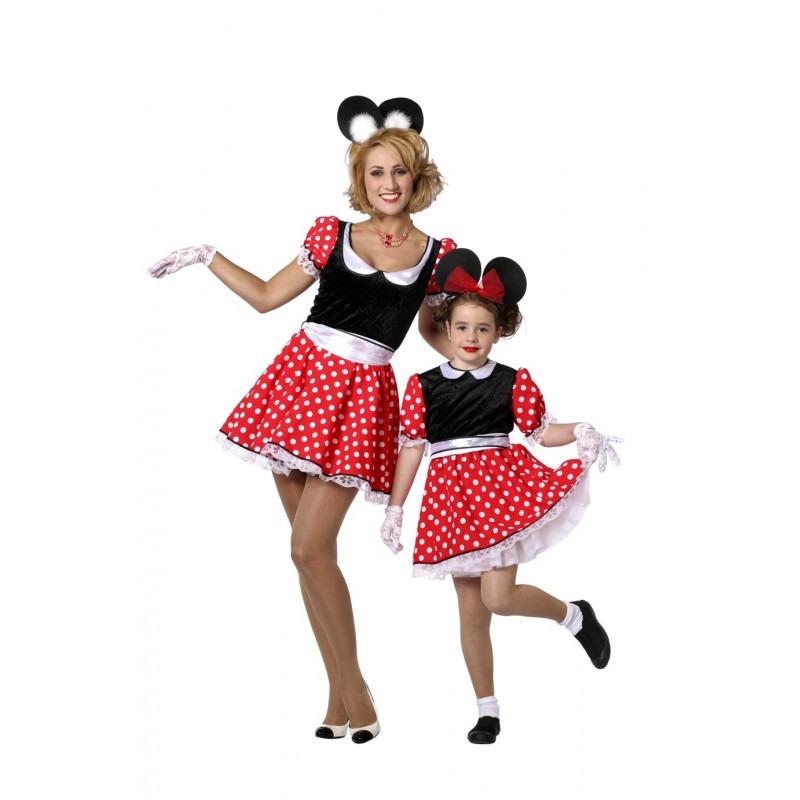 minnie mouse kostume til børn udklædning disney fastelavnskostume