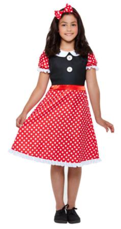 minnie mouse kostume til piger minnie mouse udklædning