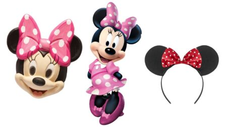 minnie mouse kostume tilbehør minnie mouse maske