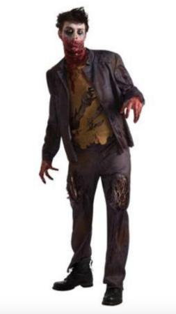 shawn the undead zombie kostume 253x450 - Zombie kostume til voksne