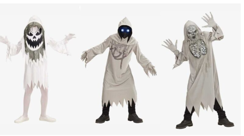 spøgelseskostume til børn halloween kostume til børn billigt halloween kostume