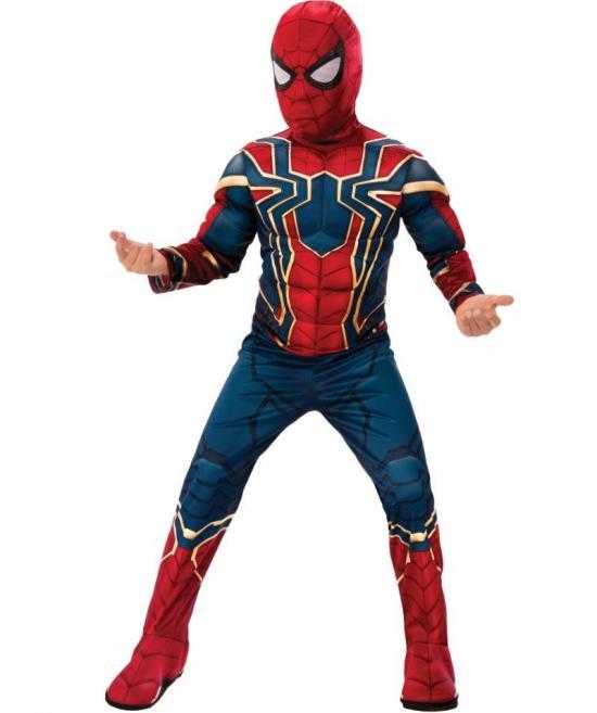 spiderman børnekostume 1 - Spiderman kostume til børn og baby