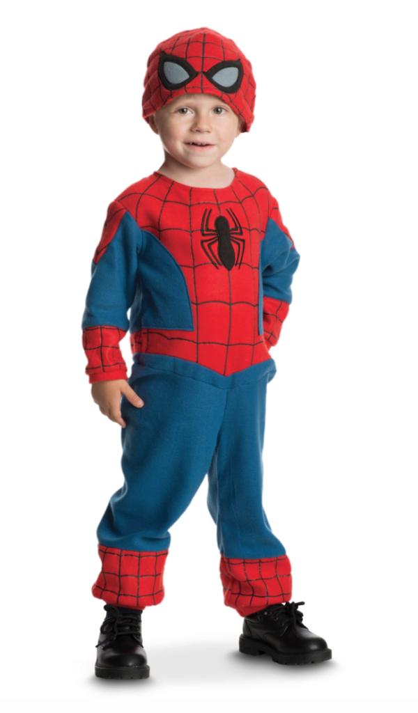 spiderman babykostume 600x1024 - Spiderman kostume til børn og baby