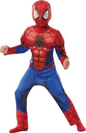 spiderman kostume luksus spiderman kostume til børn spidrman kostume 3 år spiderman kostume 4 år