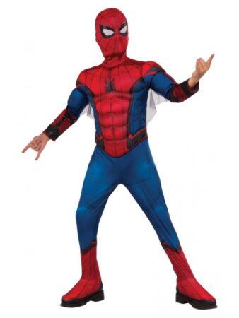 spiderman udklædning spiderman fastelavnskostume tilbud