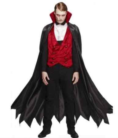 vampyr kostume til mænd 386x450 - Vampyr kostume til voksne