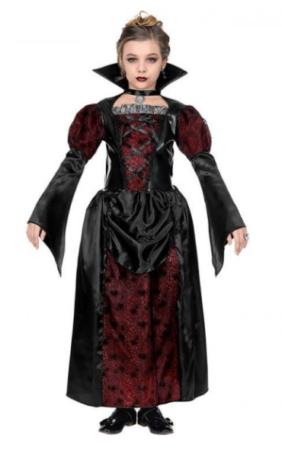 vampyr kostume til piger halloween børnekostume vampyr udklædning