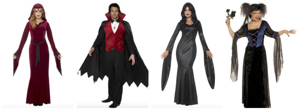 vampyr kostume til voksne vampyr udklædning halloween fastelavnskostume uhyggeligt halloween kostume