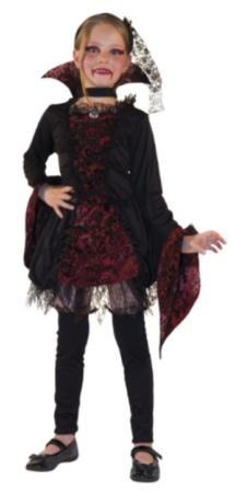 vampyr pigekostume vampyr halloween pige kostume