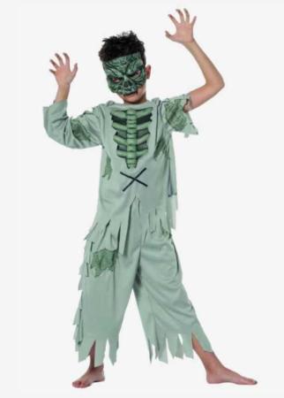 zombie kostume barn zombie halloween kostume børnekostume