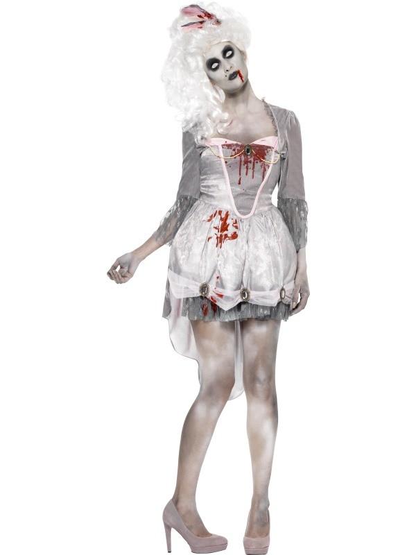 zombie kostume til voksne zombie kostume til kvinder zombie halloween kostume halloweenudklædning til voksne