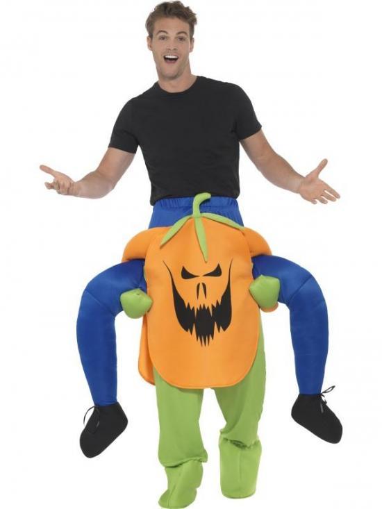 Carry me græskar kostume - Græskar kostume til voksne