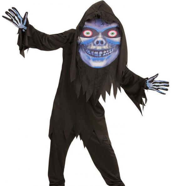 Døden kæmpehoved kostume - Døden kostume til børn