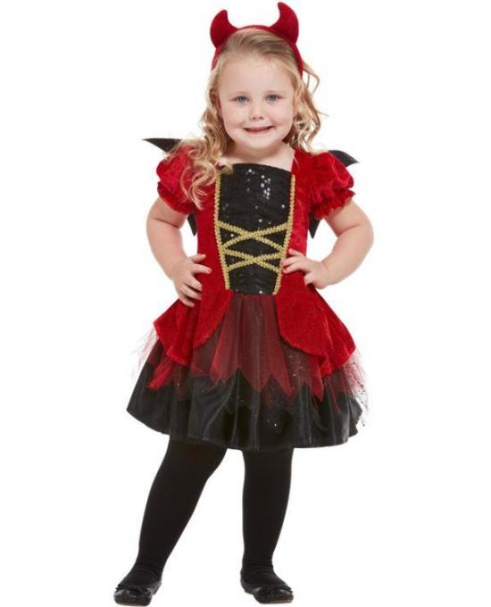 Djævel børnekostume - Djævel kostume til børn og baby