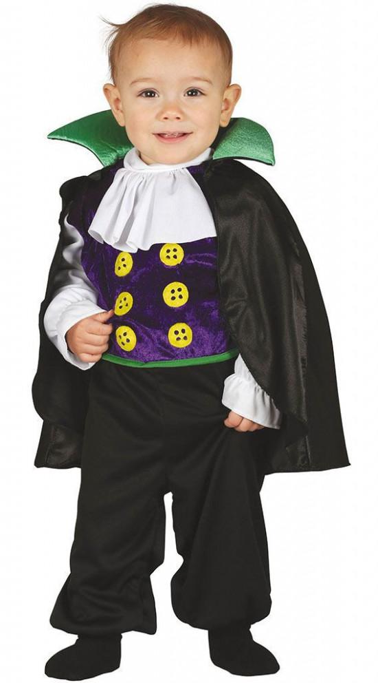 Dracula kostume til baby - Halloween kostume til baby