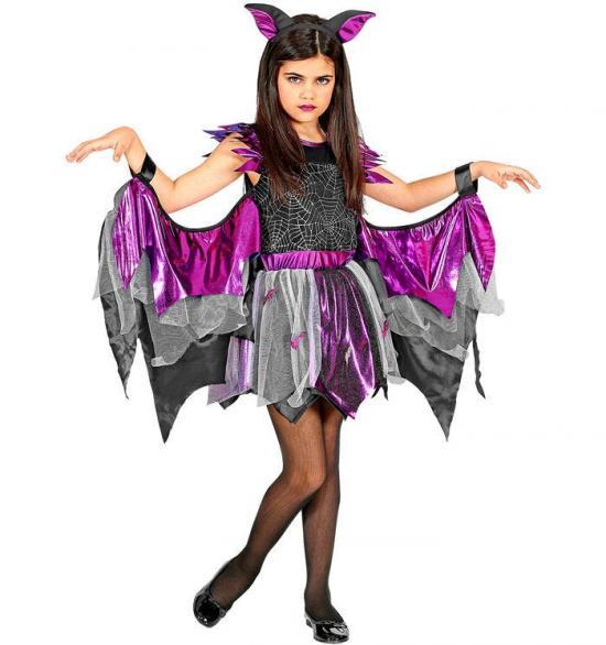Flagermus kostume til piger - Flagermus kostume til børn