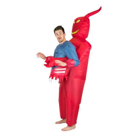 Oppustelig djævel kostume 450x450 - Djævel kostume til voksne
