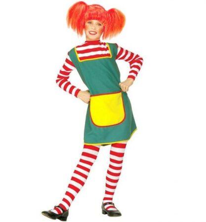 Pippi børnekostume 417x450 - Pippi langstrømpe kostume til børn