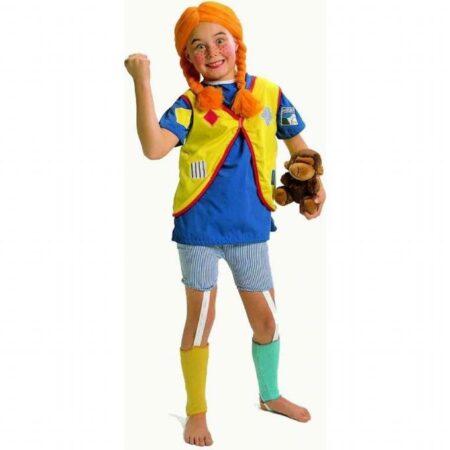Pippi langstrømpe børnekostume 450x450 - Pippi langstrømpe kostume til børn