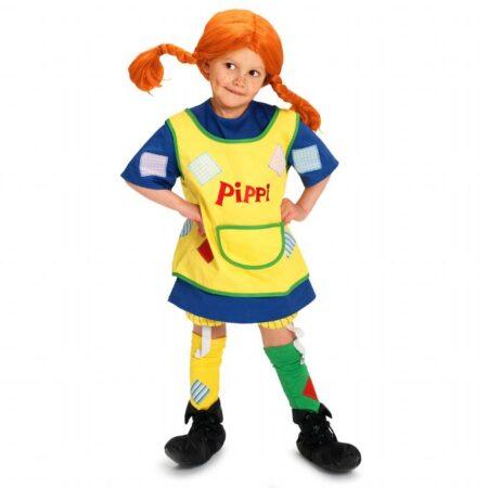Pippi langstrømpe kostume 450x450 - Pippi langstrømpe kostume til børn