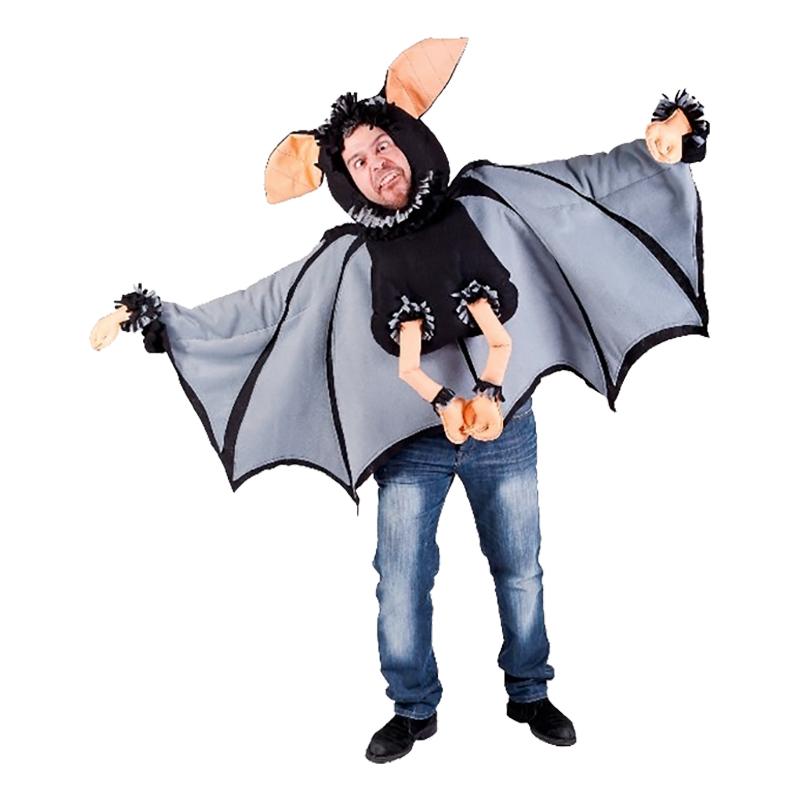 Sjovt flagermus kostume - Flagermus kostume til voksne