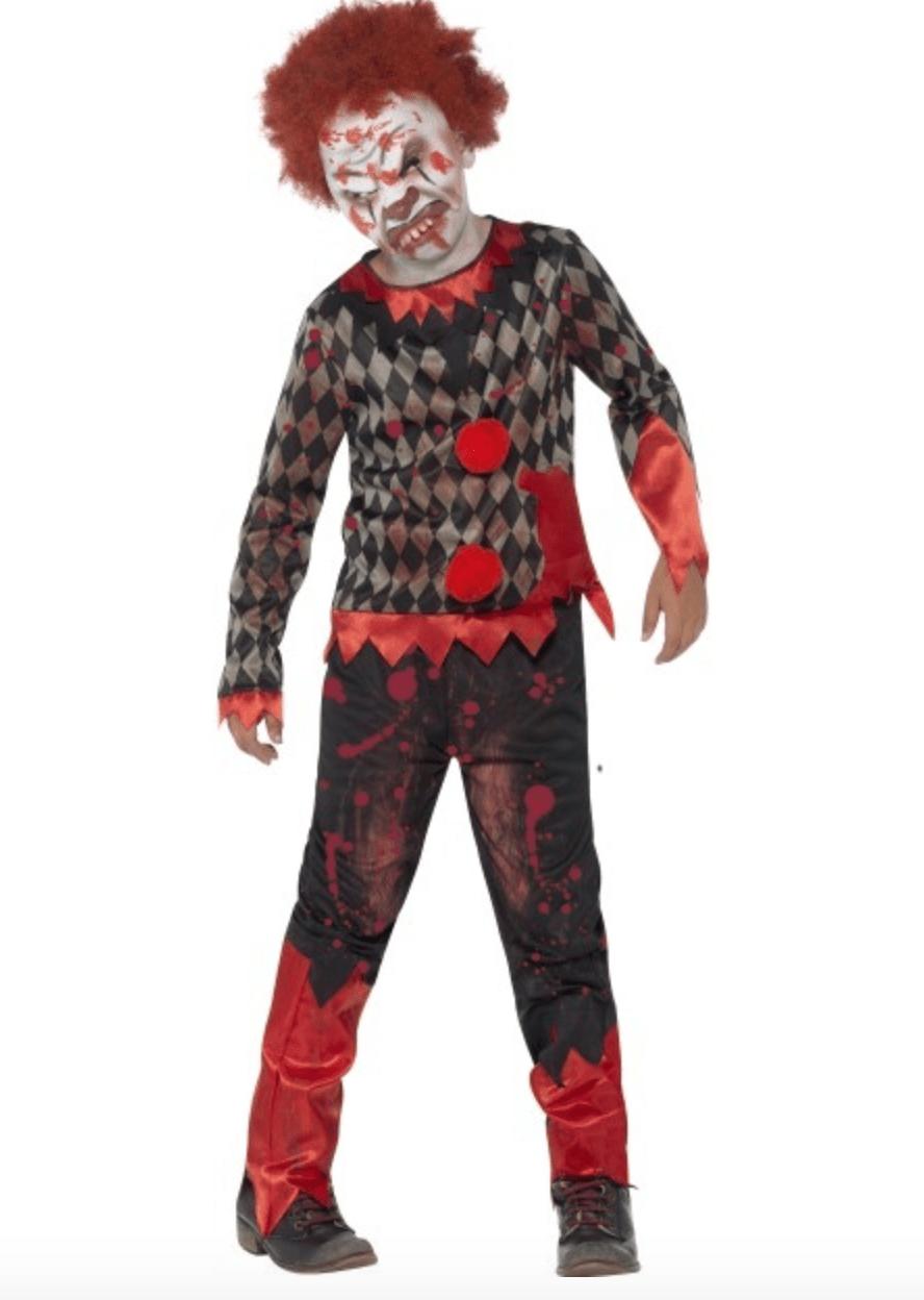 Skærmbillede 2017 08 11 kl. 16.32.57 - Uhyggeligt klovne kostume til børn