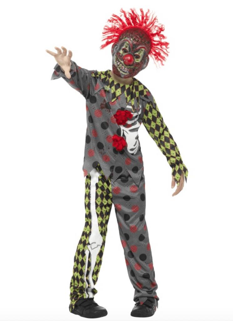 Skærmbillede 2019 01 02 kl. 10.22.58 745x1024 - Uhyggeligt klovne kostume til børn