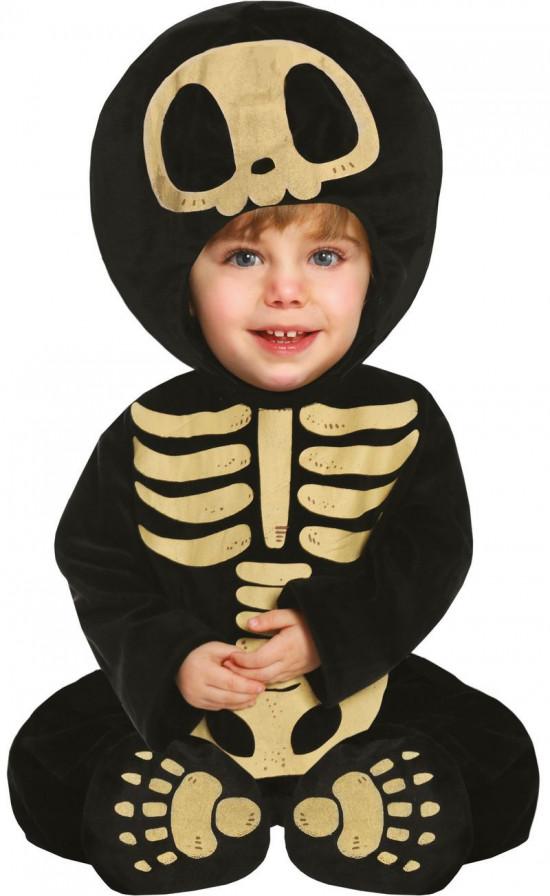 Skelet baby kostume - Halloween kostume til baby